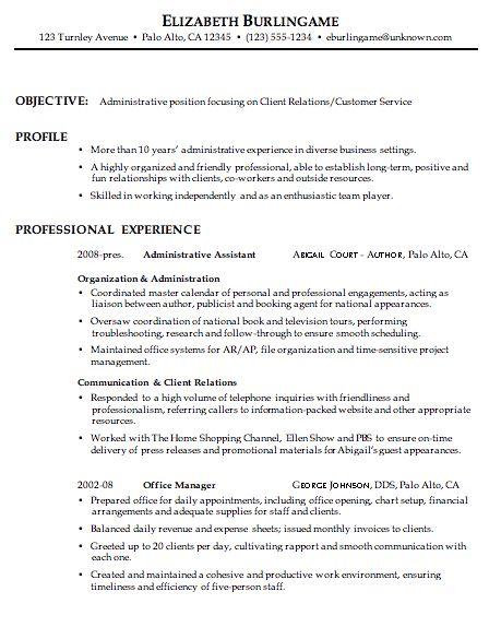 58 best Resume\/resignation images on Pinterest Customer service - sample combination resume