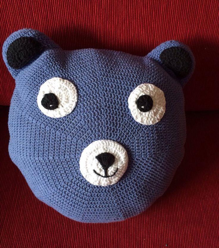 Crochet: almohadón con carita!
