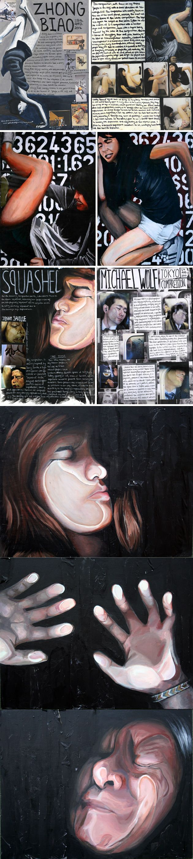 A great IB Visual Arts project by Naomi Ng from Sha Tin College, Hong Kong: