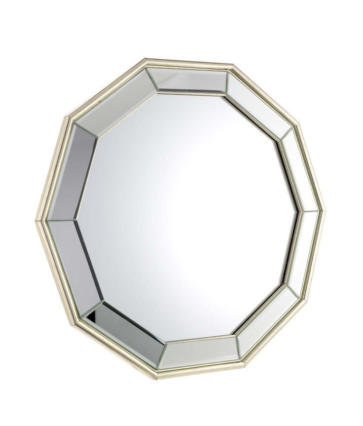 Master slick style with this gold trim mirror.  Priced at £25.