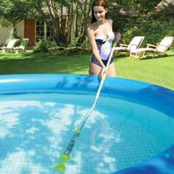 To Make your small fiberglass pools clean by easy. you need looking some  reviews the