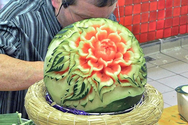 Pin by Sara Graves on om nom nommmm | Watermelon art ...