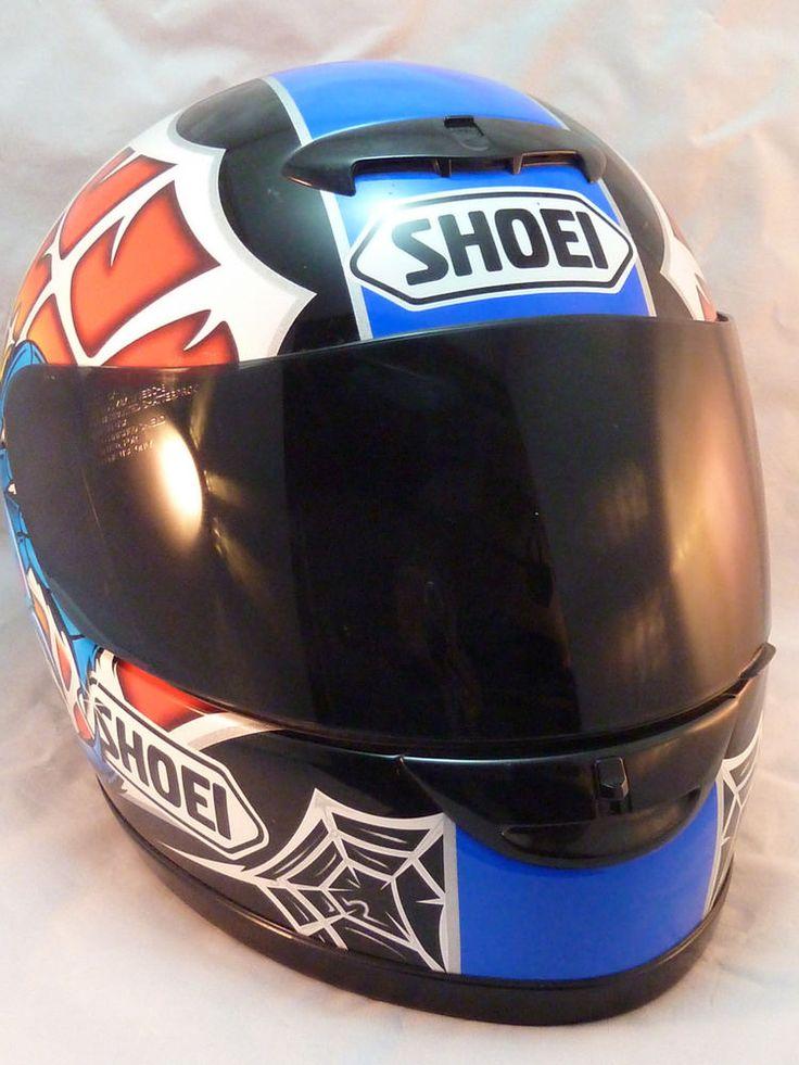Shoei Motorcycle Helmet TZ-1 Venom Spider Graphic Size L With Box Worn Twice #Shoei