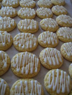 Lemon Cake Mix Cookies-trying these tonight...already snitched and they are delicious!