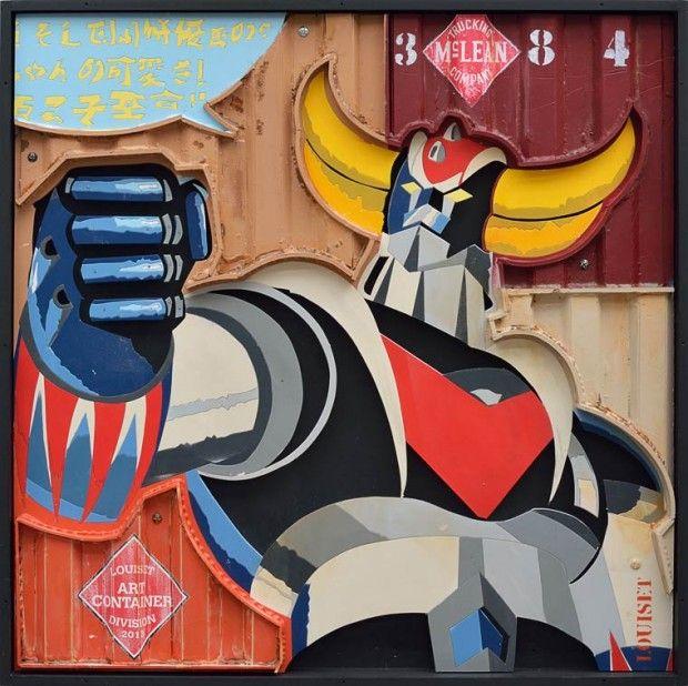 Du 5 novembre 2014 au 17 janvier 2015, le chevalier des temps nouveaux qui a bercé notre enfance, s'expose à la galerie Sukura - 21 Rue du Bourg Tibourg, 75004 Paris.