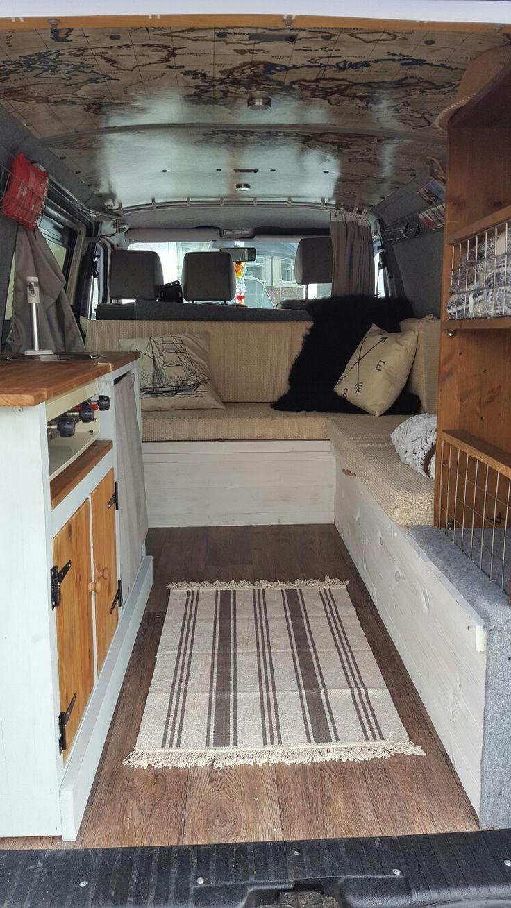 Sofa Bed To Bunk Beds Sofas En Ikea Diy Vw T4 Camper Interior   Conversion Pinterest ...