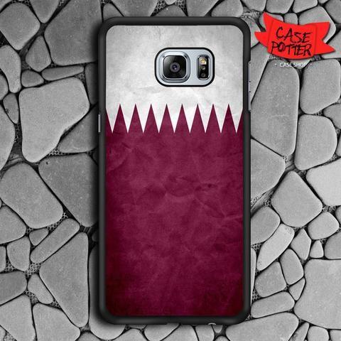 Chevron Purple White Samsung Galaxy S6 Edge Plus Black Case