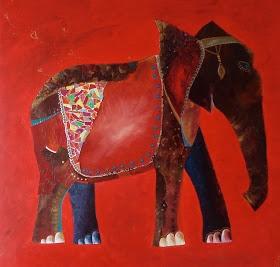 Lil'Dreys Art: My elephant...