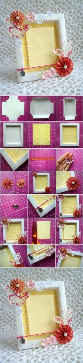 DIY Cool Picture Frame Designs DIY Projects