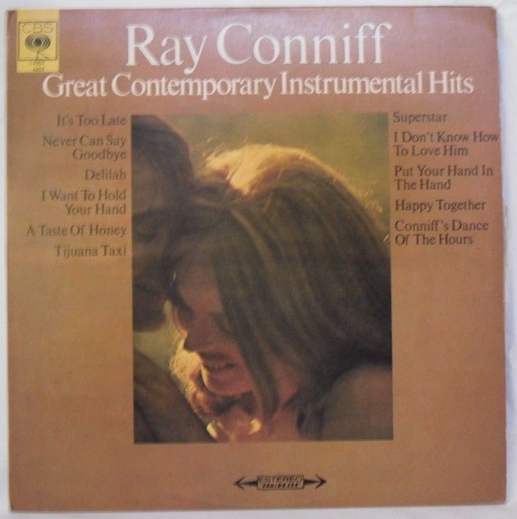 Ray Conniff - Great Contemporary Instrumental Hits LP Hecho en Venezuela