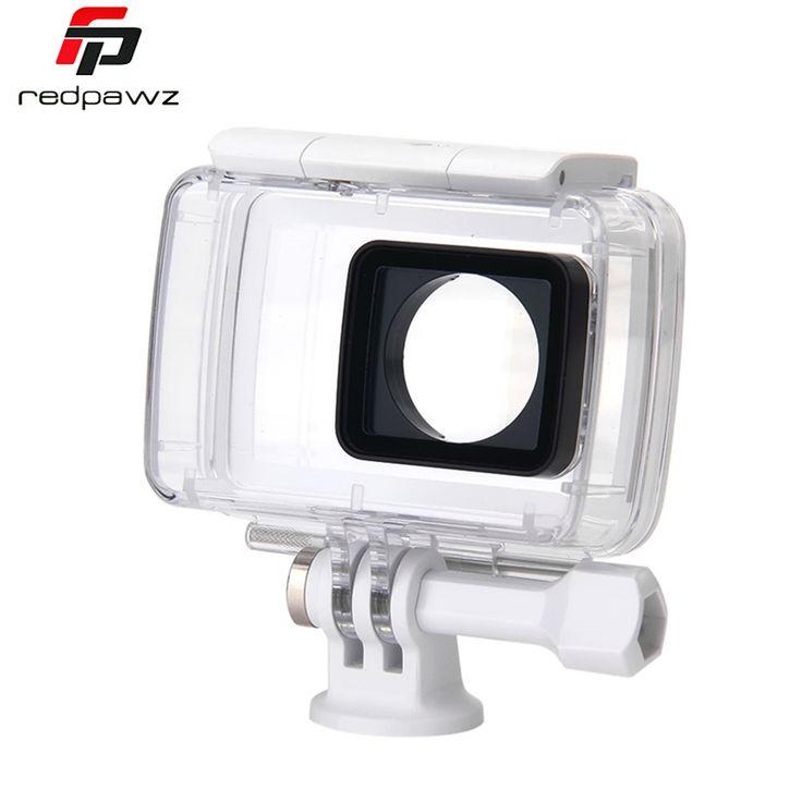 Купить товар100% первоначально Xiaomi Yi водонепроницаемый чехол дайвинг 40 м водонепроницаемый для Xiaomi йи 4 К действий камеры 2, Yi видео камеры и части в категории Сумки для фото/видеотехникина AliExpress.   [Xlmodel]-[Заказ]-[33348]   Подчеркивает                                                       Добро пожаловать в мой