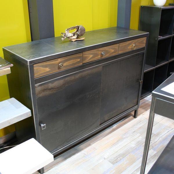 40 best Buffet et meubles de rangement images on Pinterest Buffets - meuble de rangement avec tiroir