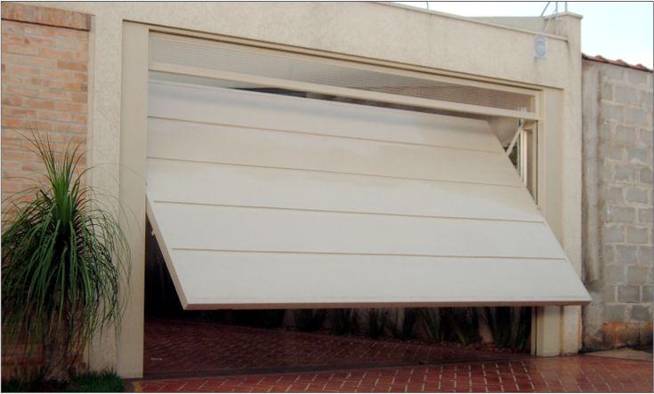 Portão de garagem basculante - Serralheria Barros                                                                                                                                                                                 Mais