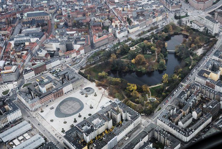 COBE renews israel's square in central copenhagen