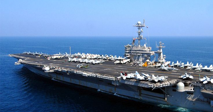 Sitting Ducks? All Active U.S. Navy Aircraft Carrier Currently Sitting in Port Against Protocol