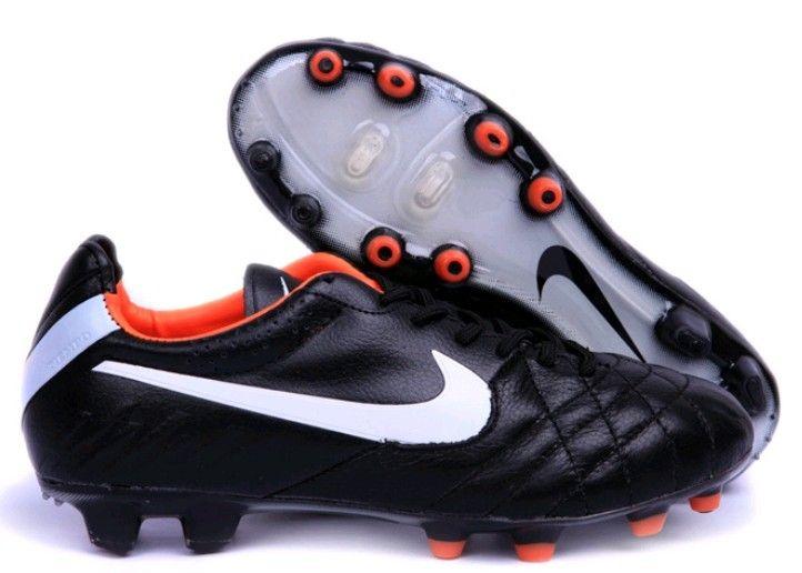 NikeTIEMPO LEGEND 7 PRO FG  FußballschuheHerren  black/total orangeblackwhite