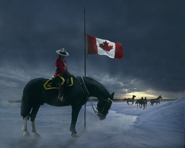 In memory of the 3 RCMP officers killed in Moncton, New Brunswick- 06/04/14.