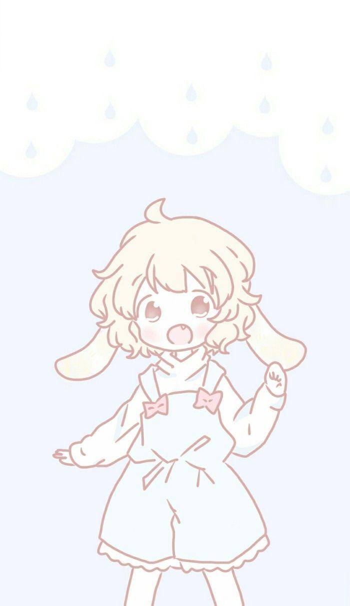 Manamoko Fancysurprise Fancy Anime Blue Girl Art Fashion Style Sofiahalbof Pastelblue Pastelart Pastelgoth Kawaii Anime Cute Art Cute Wallpapers