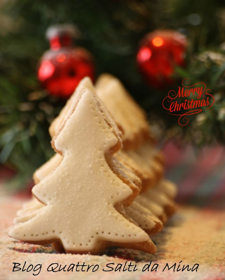 ALBERI (biscotti) di NATALE