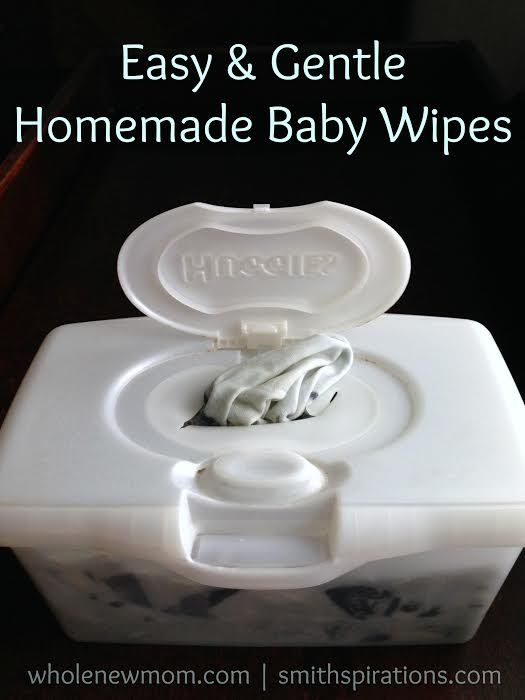 Homemade Baby Wipes - Ditch the toxins and keep your baby's tushy healthy!