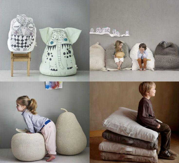 The best bean bags & floor cushions for kids - Paul & Paula