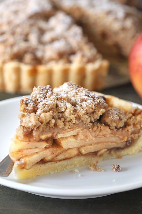 Gluten-Free Apple Tart needs to be on your table this autumn. Everyone will love it!