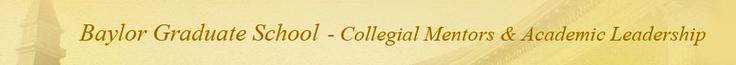 Baylor University || Graduate School || Programs