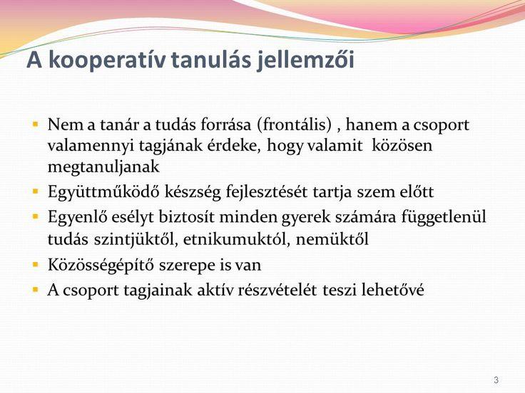 Kooperatív tanulási módszer - ppt letölteni