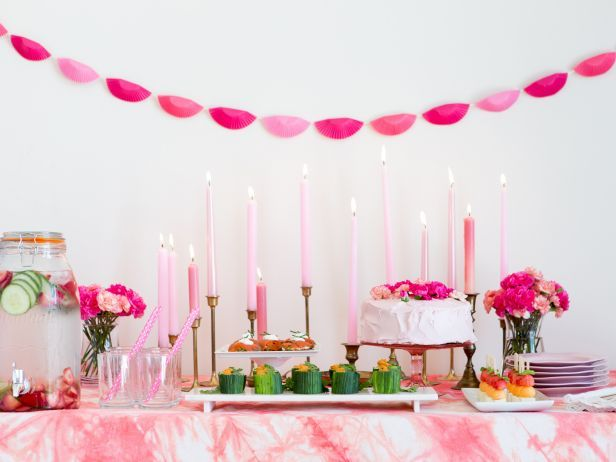 "How to Host a ""Pretty in Pink"" Shower, by @CamilleStyles: Food Network, Shower Ideas, Foodnetwork Com, Holidays Party Ideas, Party Package, Gift Party Ideas, Baby Shower, Party Food, Birthday Ideas"