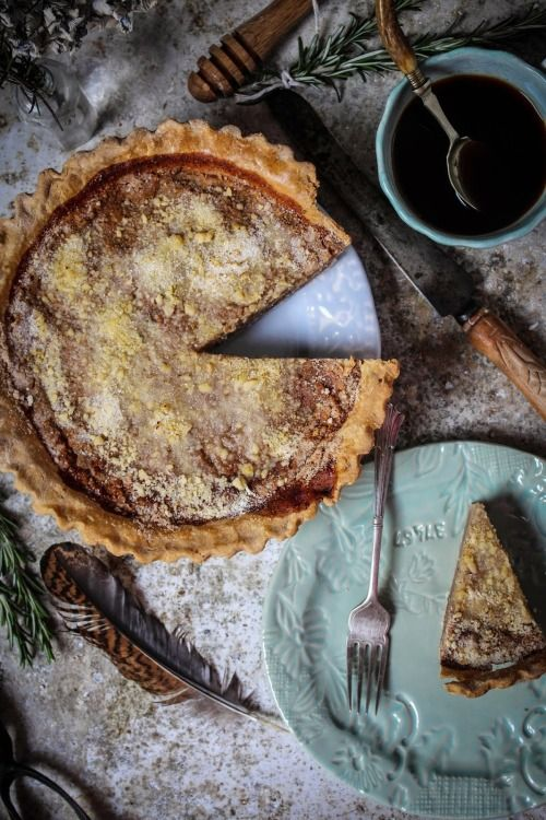 Honey & Rosemary Shoofly Pie | Twigg Studios