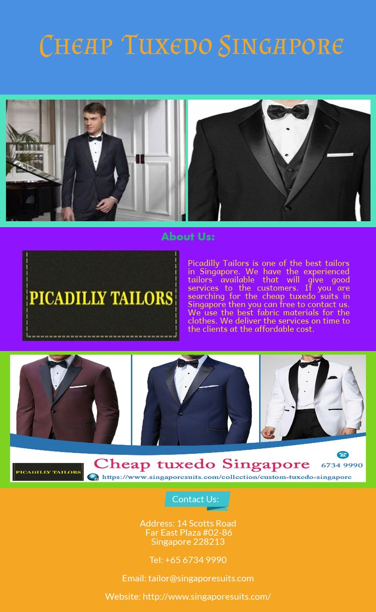 Affordable tailored suits singapore