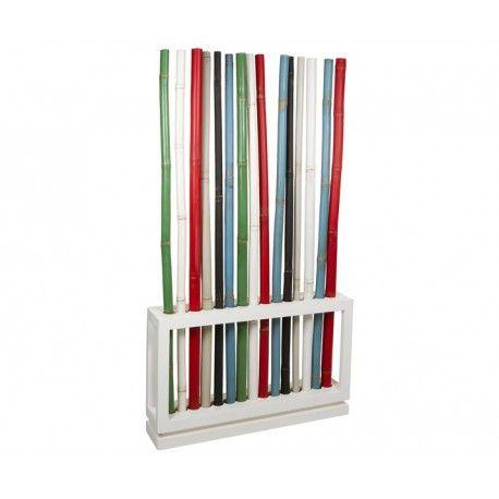 separador de espacios bamb separador de ambiente moderno de caas de bamb de colores y