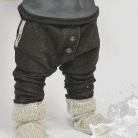 ++BOOSO++ Button Pants black