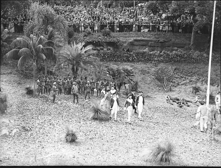 Image 3. 150th Anniversary of the landing of Governor Phillip at Farm Cove. Home and Away - 17957. Manuscripts, oral history & pictures - State Library of New South Wales