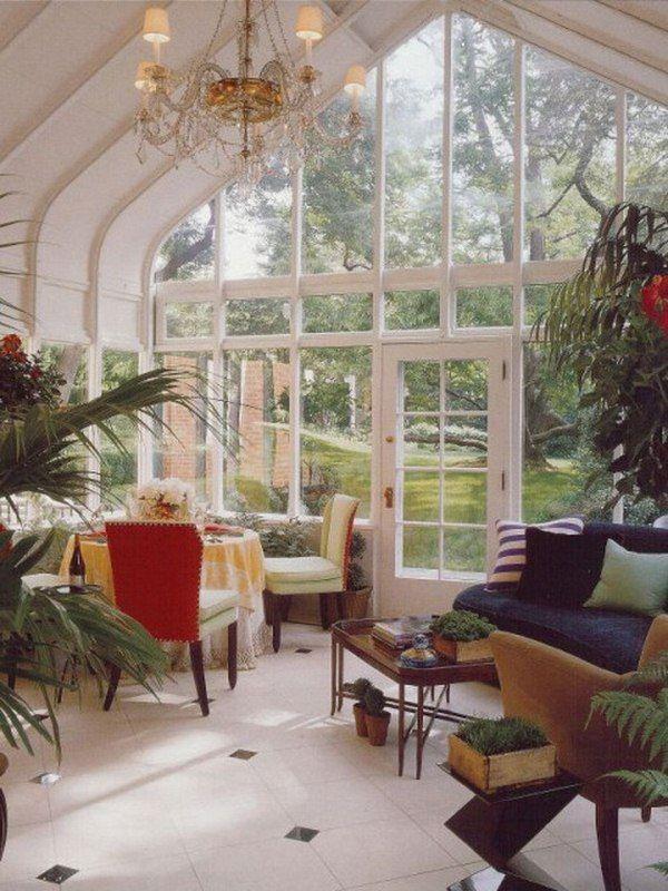 53 Stunning Ideas Of Bright Sunrooms Designs