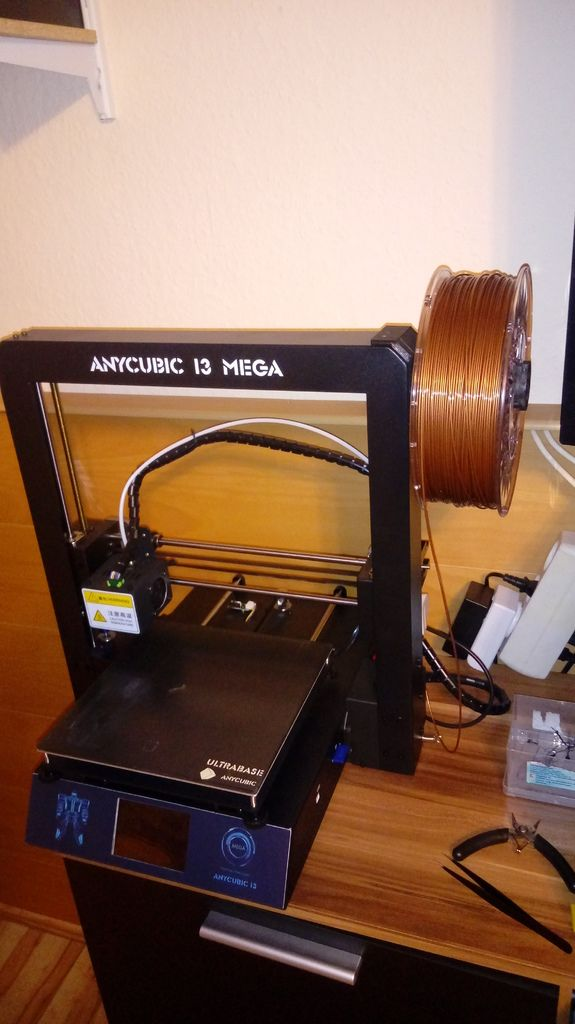 Anycubic i3 Mega Spool Holder by baldymen - Thingiverse | 3d