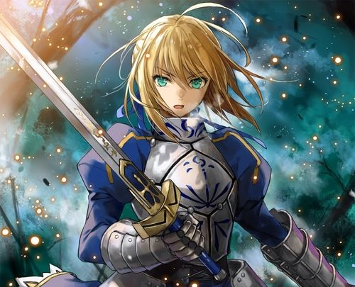 King Arthur  Gender bend from Fate Stay Night/ Fate Zero.
