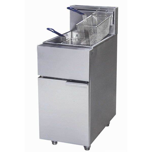 Industrial Restaurant French Potato Chips Deep Fryer Machine