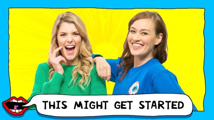 FLOSSING EACH OTHER with Grace Helbig & Mamrie Hart  On the first ever episode of THIS MIGHT GET, Grace Helbig and Mamrie Hart are kicking it off by shaving beards, flossing each other, and giving you ...