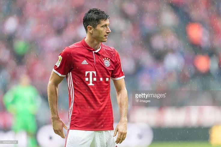 Muenchen, Deutschland, , Bundesliga 3. Spieltag, FC Bayern Muenchen - FC Ingolstadt 04, Robert Lewandowski