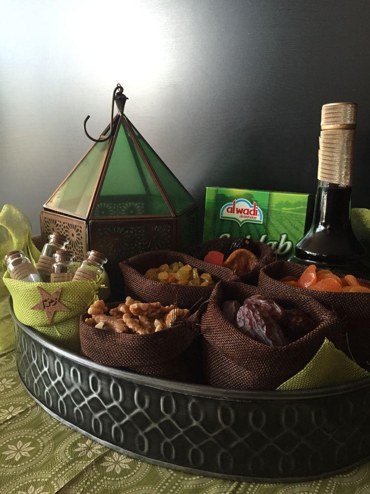 Ramadan gift basket (eid sweets gift)