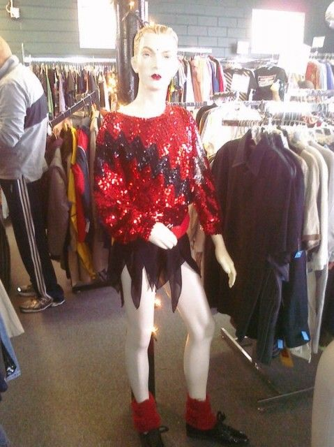 thrift store trannequins in this austin texas store whose proceeds benefit programs at non - Halloween Stores Austin Texas