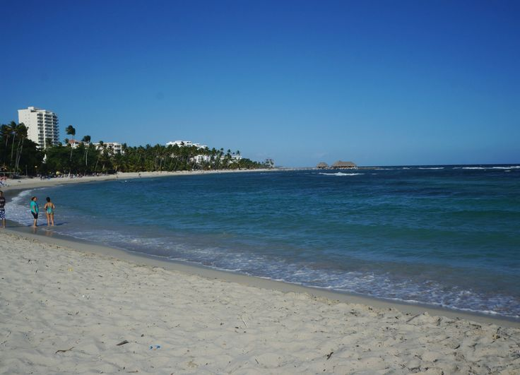 This is Juan Dolio Beach in the Dominican Republic, just outside of Santo Domingo (we got there by taxi!). The beach is incredible because, just off the Barcelo resort there is a little snorkeling cove. Phenomenal!
