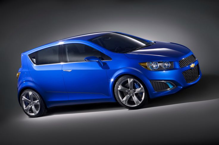 Side View chevrolet aveo Blue 2013 - Car HD Wallpaper