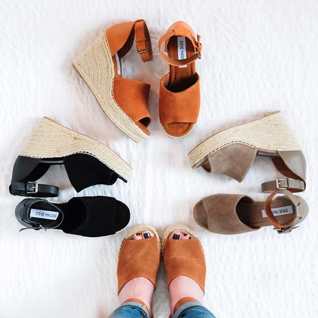 SPLURGE or STEAL: March Fisher Adalyn wedges vs. Steve Madden Jaylen wedges.