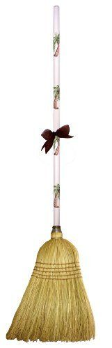 """CuteTools! 15009 Garden Broom, Palm Tree by CuteTools!. $28.00. 5 rows of reinforced stitching and a larger 15/16"""" diameter handle. Beautiful hand painted handle. Broom head has a full shoulder and is made with all corn fibers for durability and sweeping. The garden broom has a place in every garage or garden shed. the broom head has a full shoulder and is made with all corn fibers for durability and sweeping even the biggest of jobs. it could also be used for kitchen c..."""