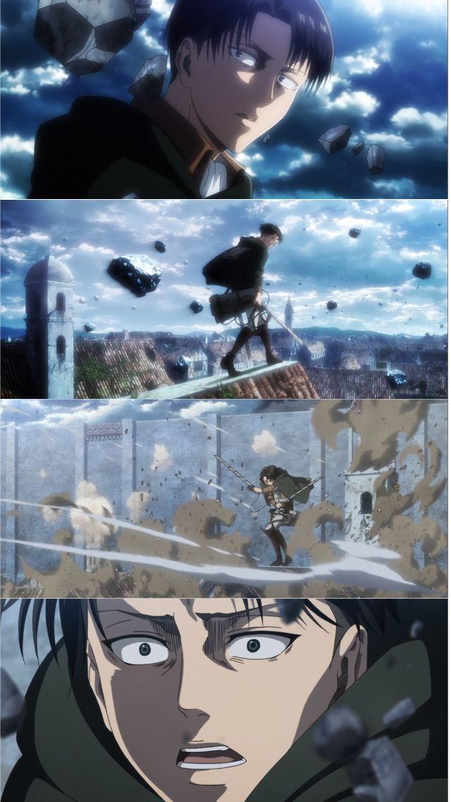 Levi Attack On Titan Shingeki No Kyojin Season 3 Episode 16 Snk Shingekinokyojin Attackont Attack On Titan Anime Attack On Titan Levi Attack On Titan