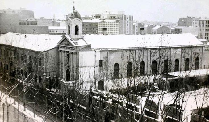 Antigua iglesia de los Salesianos de Atocha