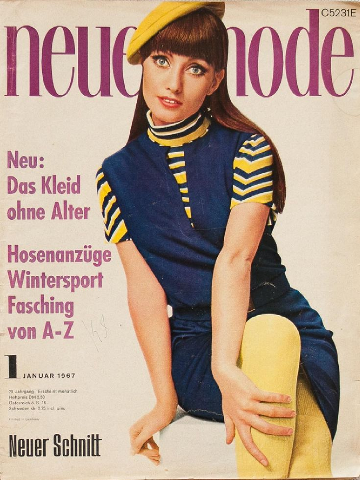 Vintage pattern magazine from my collection. Full scan. Read more about it on my blog: www.robot-heart.blogspot.com