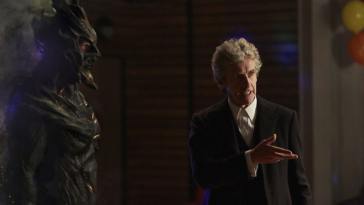 ''Corakinus'' of the Shadow Kin (Paul Marc Davis) & the Doctor (Peter Capaldi) pic 1  -- Class.S01E01 - ''For Tonight We Might Die''  (Class - BBC Three Series) (Doctor Who - BBC Series) (BBC Three - Photo Gallery: Class - ''For Tonight We Might Die'') pic: http://www.bbc.co.uk/programmes/p04c0hn3/p04c0h9v  episode page: http://www.bbc.co.uk/programmes/p048h1s0  BBC Three - Photo Gallery: Class - ''For Tonight We Might Die'' link: http://www.bbc.co.uk/programmes/p04c0hn3